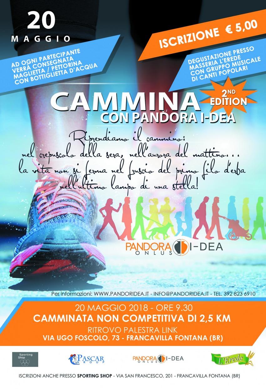 Cammina con Pandora I-Dea 2° Edition